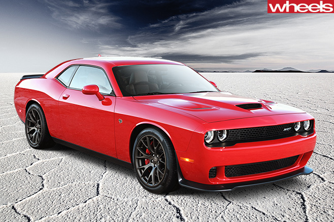 Dodge -Challenger -SRT-front -side