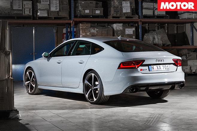 Audi rs7 back