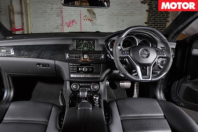 Mercedes-benz cls63 s interior