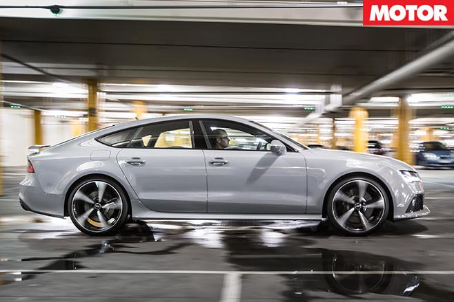 Audi rs7 side