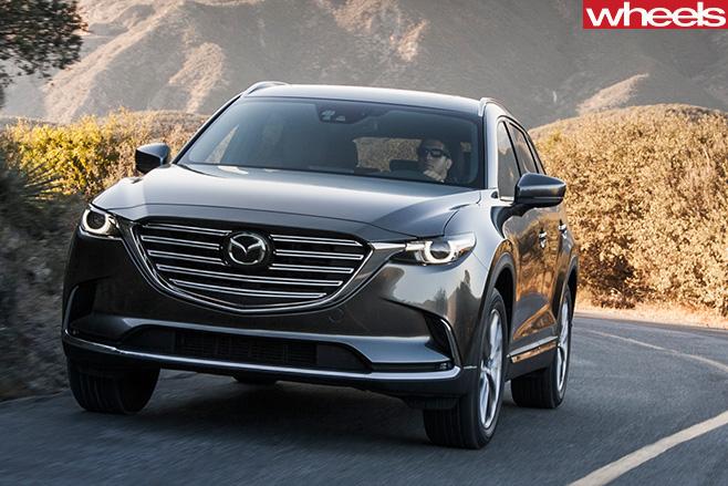 Mazda -CX-9-front