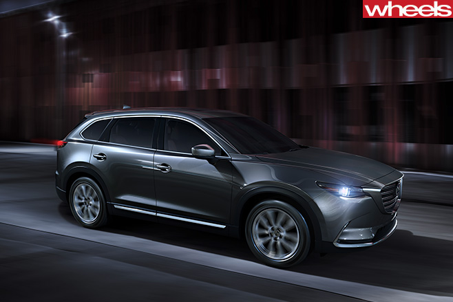 Mazda -CX-9-driving -side