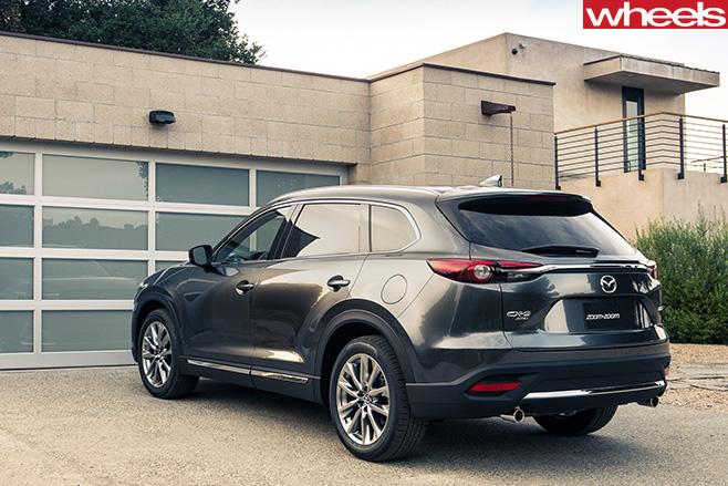 Mazda -CX-9-side -rear