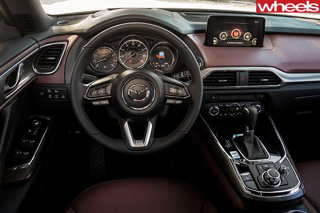 Mazda -CX-9-interior -steering -wheel