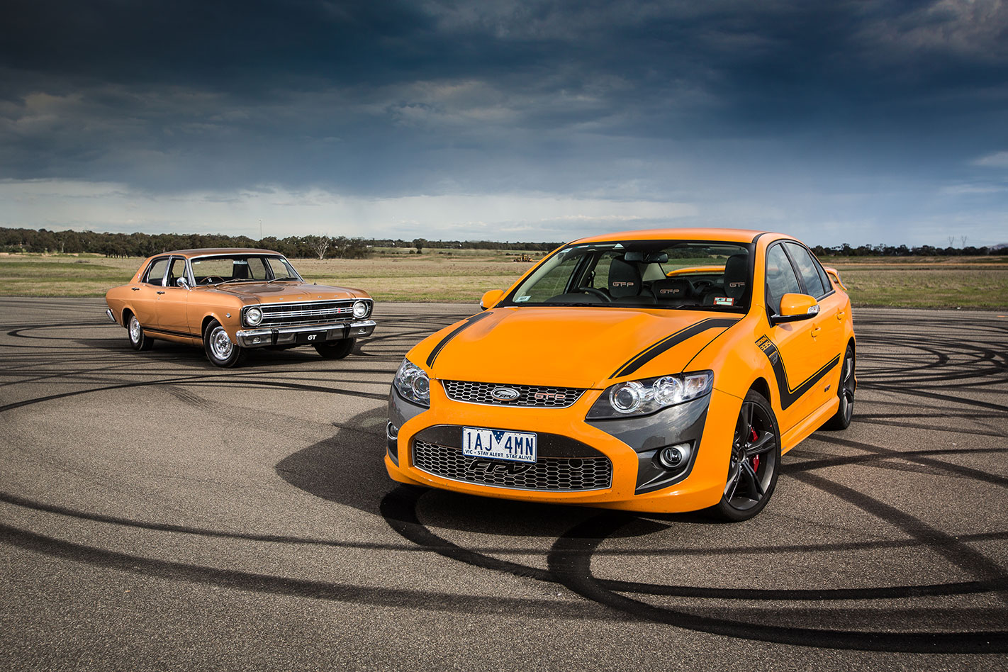 FPV-GT-F-and -Ford -XT-Falcon -GT