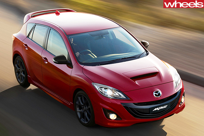 LA Motor Show Turbo Mazda 3 MPS a nogo for now says Mazda  Wheels