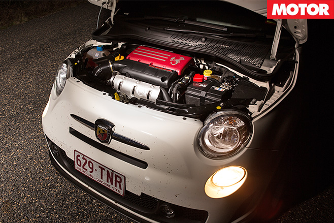 Abarth  500 c engine