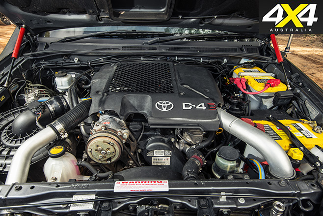 Custom toyota hilux sr 5 engine