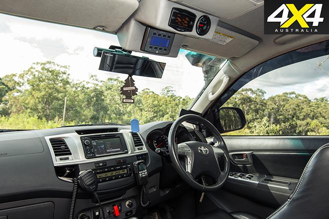 Custom toyota hilux sr5 interior