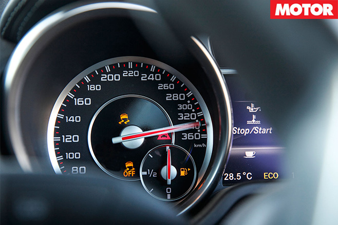 Mercedes -Benz -SL65-AMG-speedo