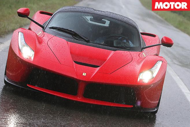 Ferrari LaFerrari seat move