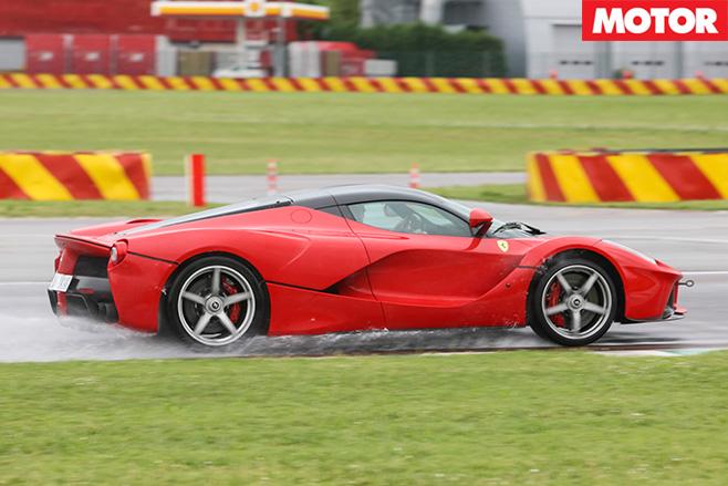 Ferrari LaFerrari rear side