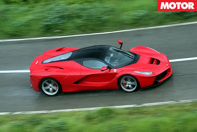 Ferrari LaFerrari top