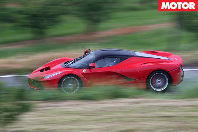Ferrari LaFerrari side