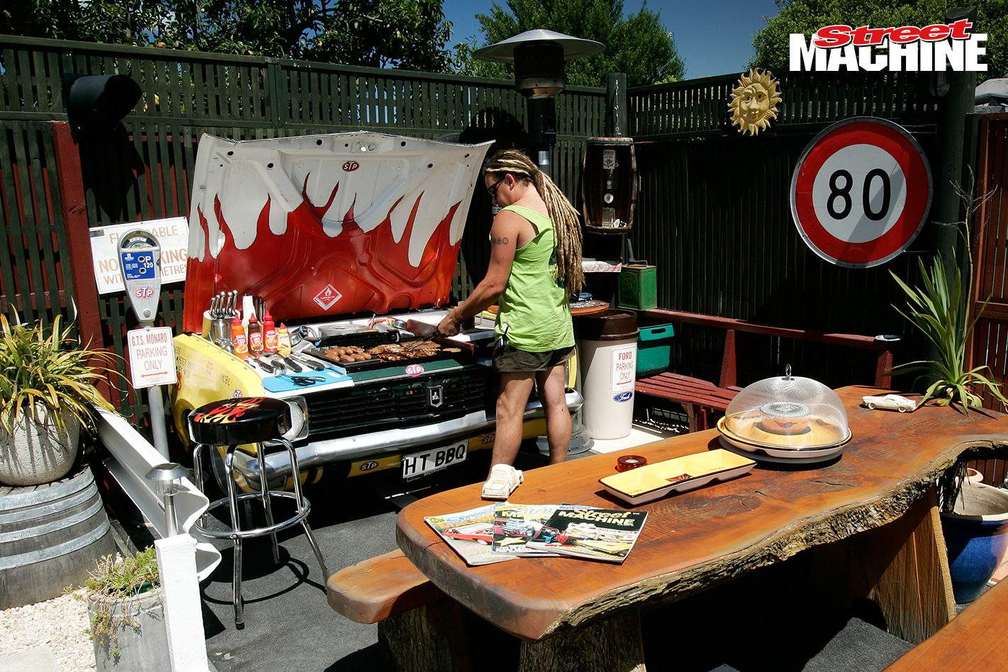 HT Monaro BBQ Shed 5 Nw