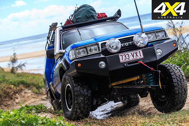 Custom toyota 80-series land cruiser 4wd