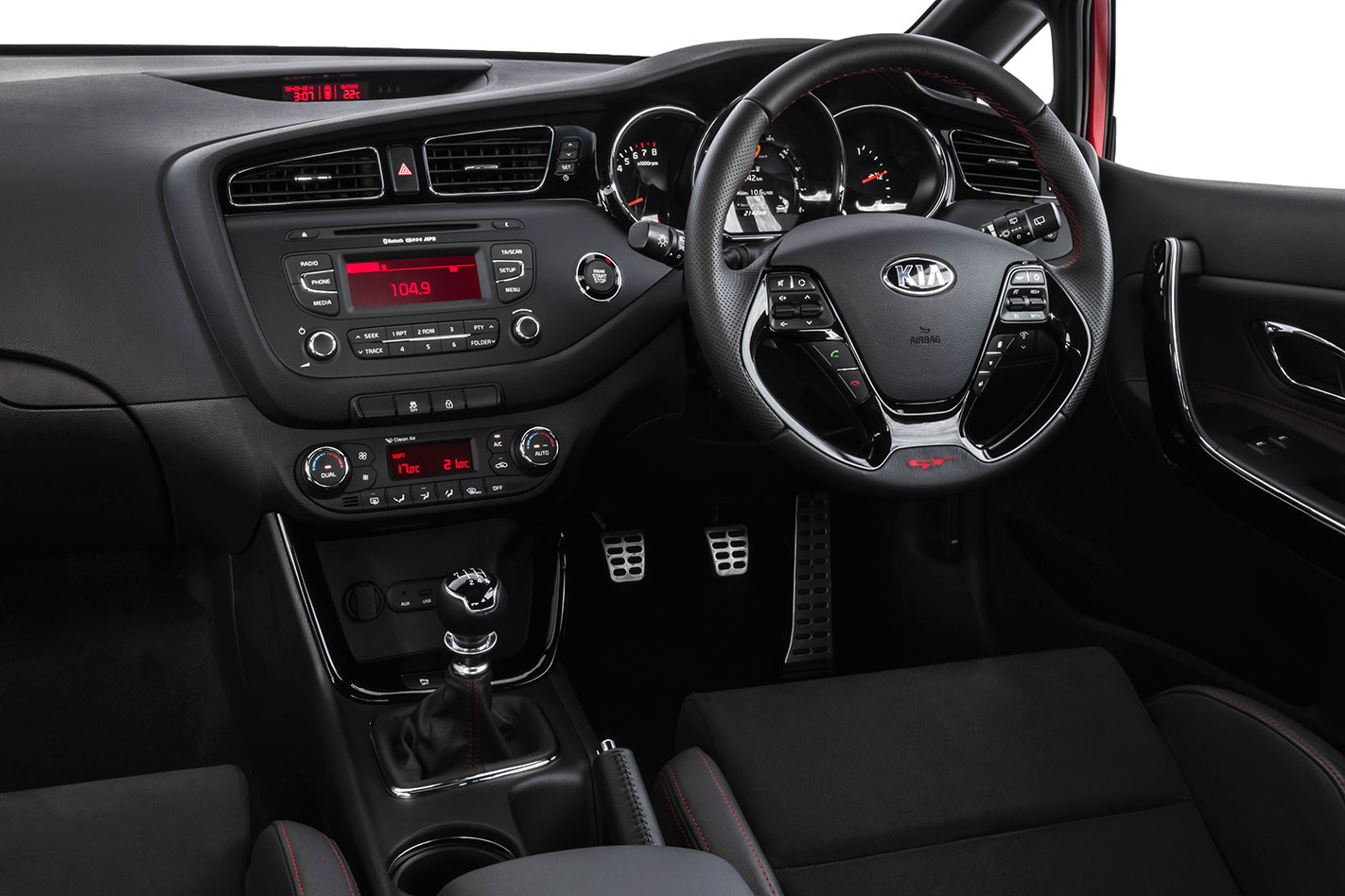 Kia -Proceed -GT-interior