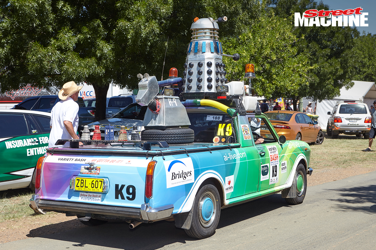Austin Dalek Ute Summernats 2
