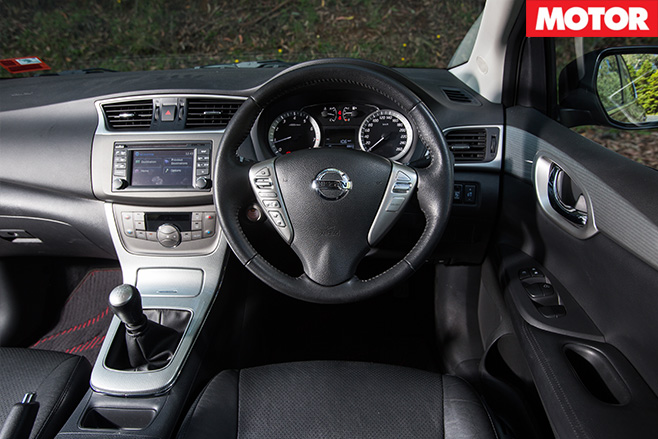 Kia proceed gt vs mazda 3 sp25 vs hyundai i30 sr vs holden for Nissan pulsar interior