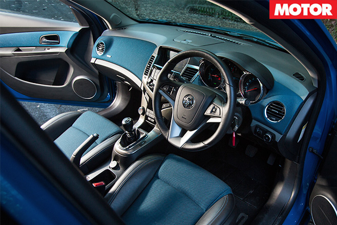 Holden cruze interior