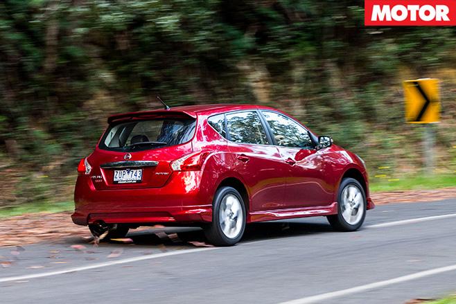 Nissan pulsar sss rear