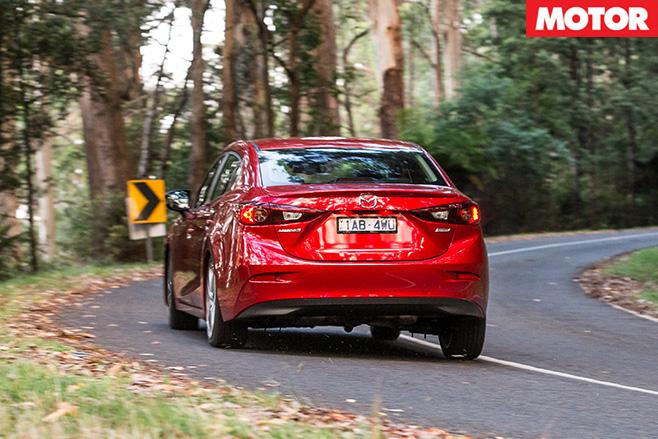 Mazda 3 sp25 rear