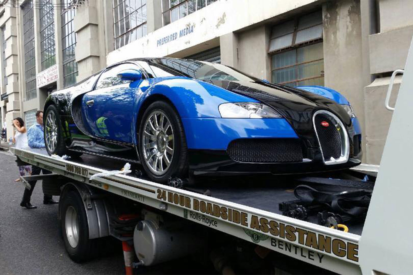 Melbourrne -Bugatti -Veyron -front