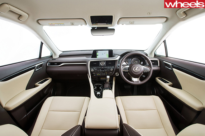 Lexus -RX-200t -luxury -interior