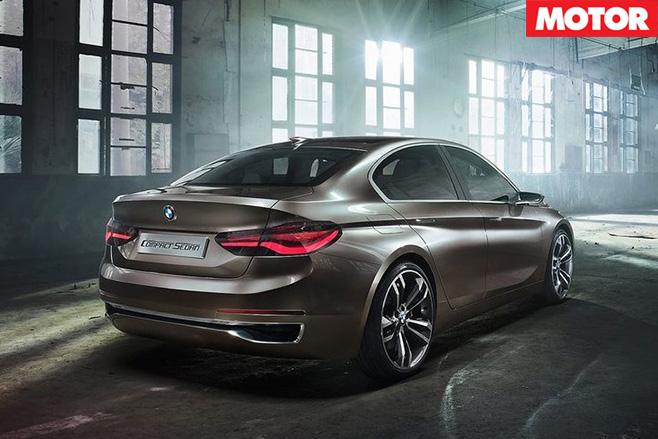 BMW Compact Sedan Concept rear