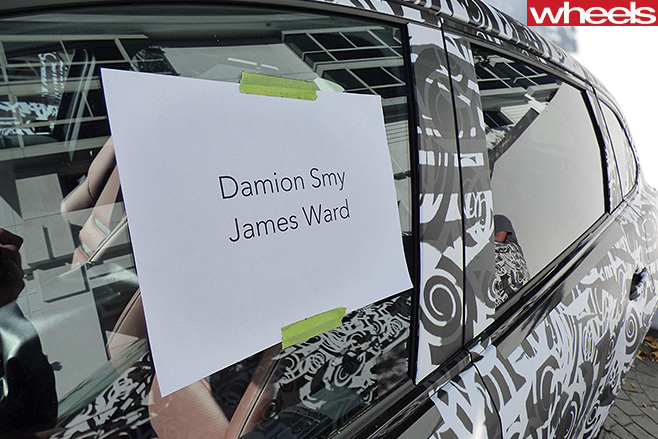Damion -Smy -Mazda -CX-9-disguised -sign