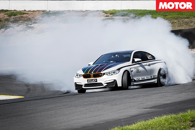 City performance bmw m4 drift