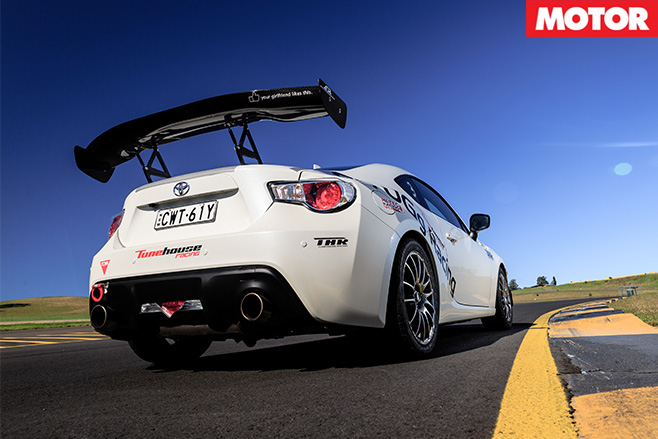 Tunehouse toyota 86 rear