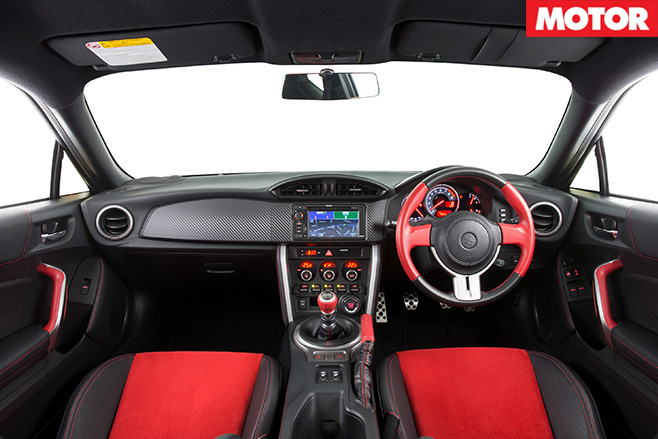 Toyota reveals 86 Blackline Edition interior