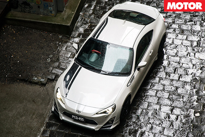 Toyota reveals 86 Blackline Edition top