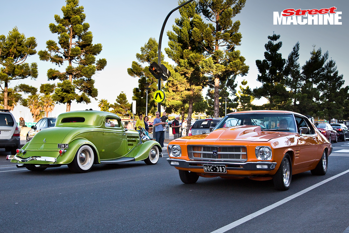 Geelong Revival HQ Monaro