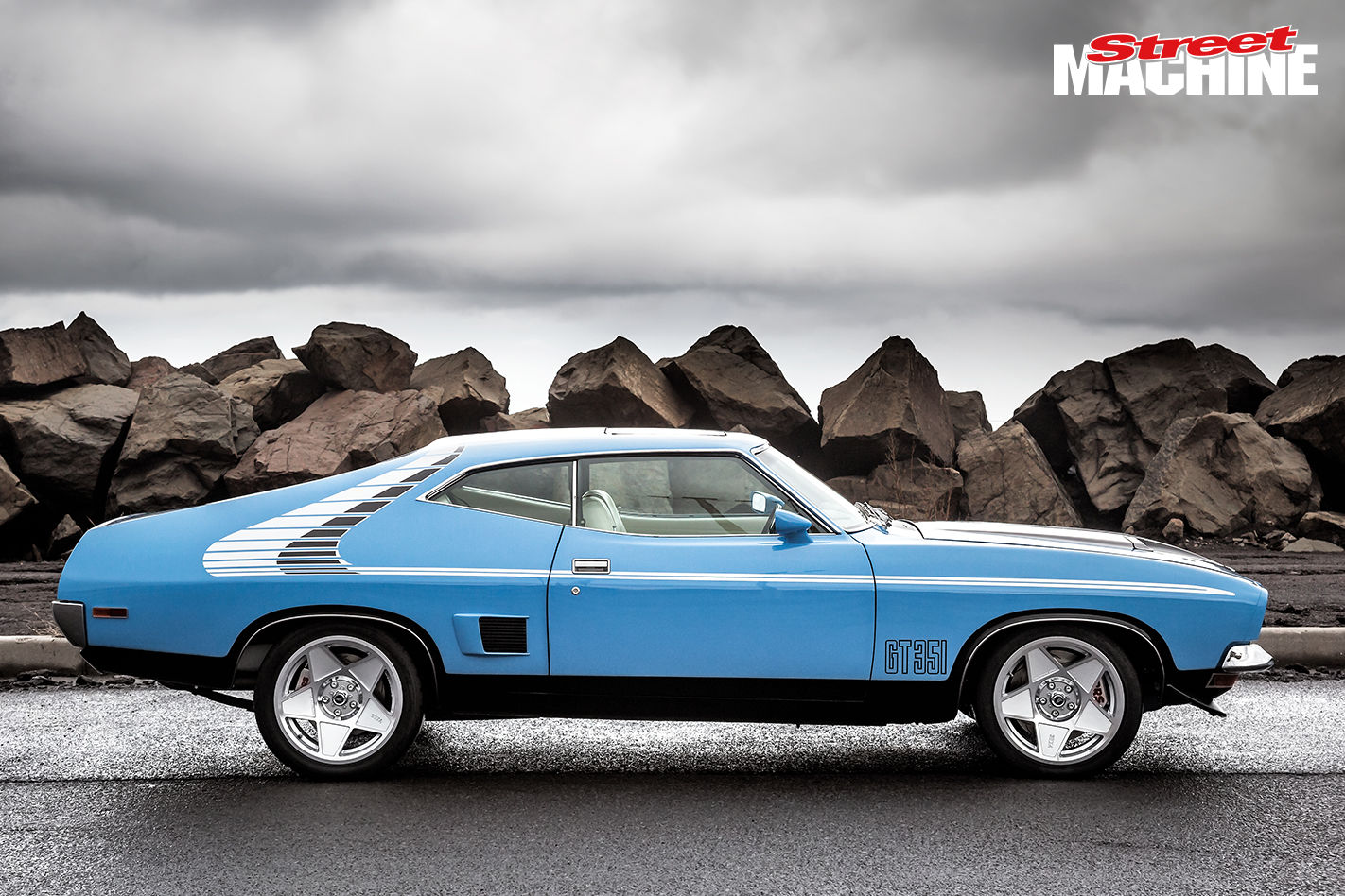 XB Falcon Coupe 351 4 Nw