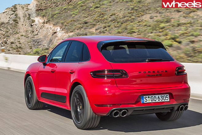 Porsche -Macan -rear -driving