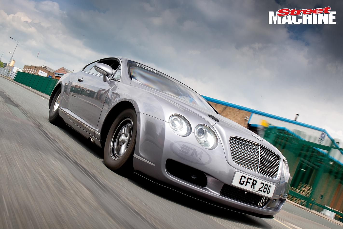 Bentley GT Drag Race Car 1 Nw