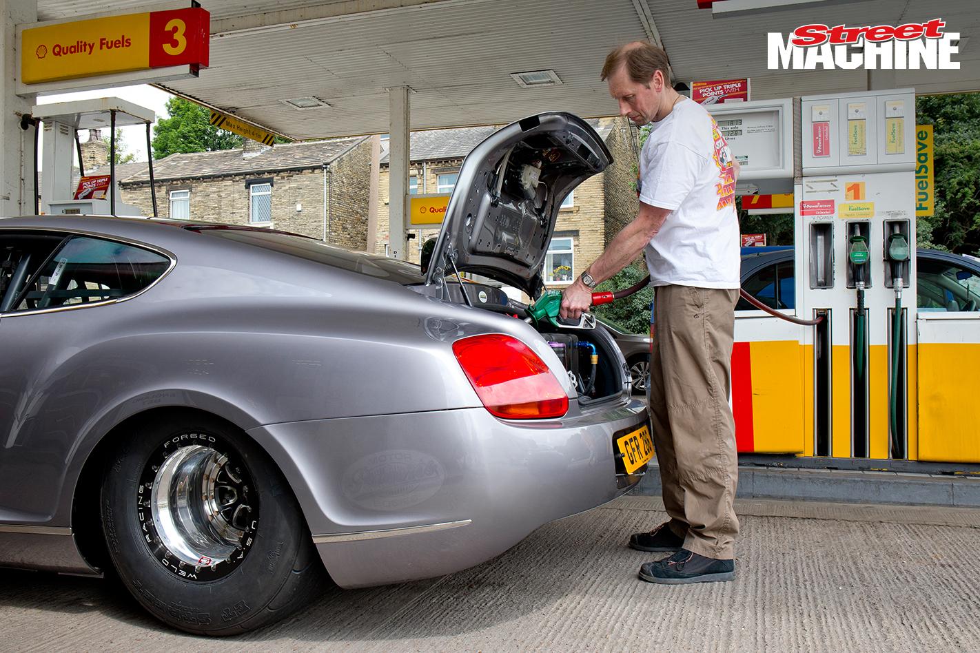 Bentley GT Drag Race Car 3 Nw