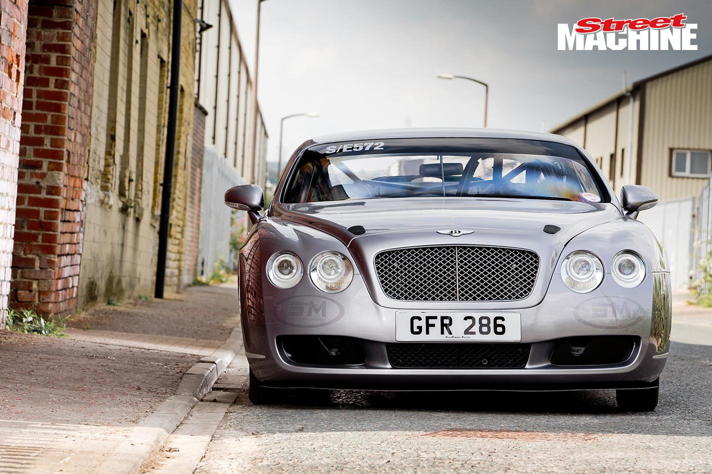 Bentley GT Drag Race Car 9 Nw