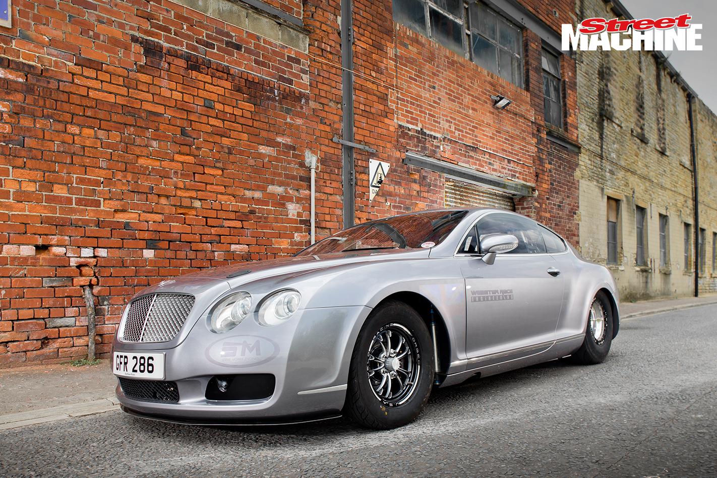 Bentley GT Drag Race Car 10 Nw