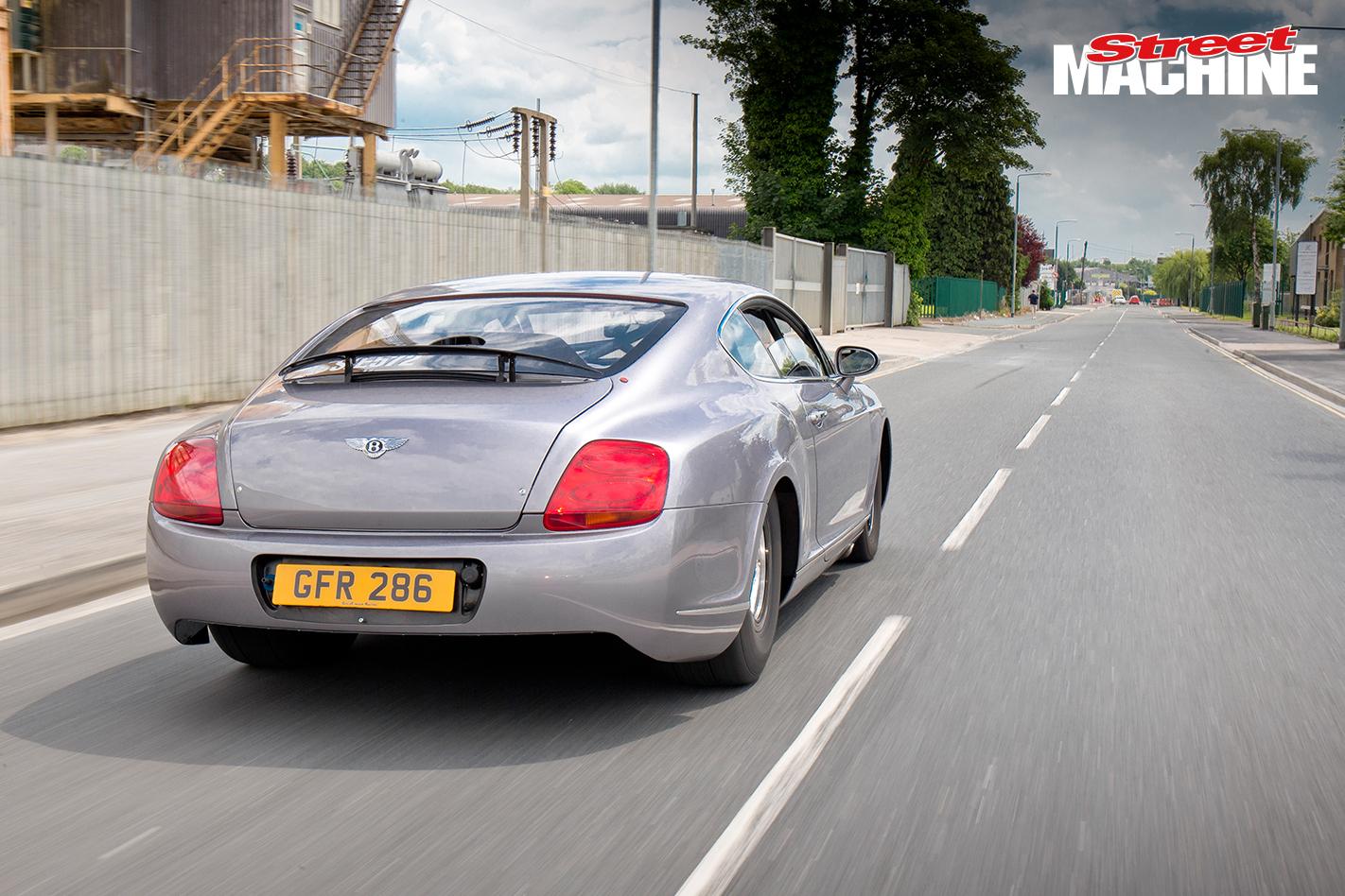 Bentley GT Drag Race Car 11 Nw