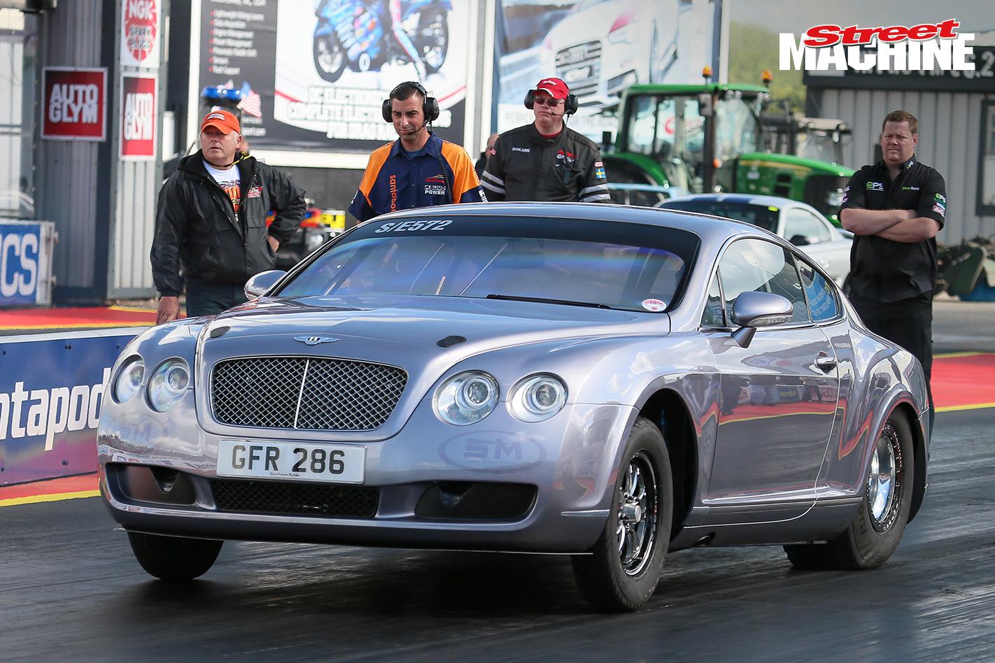 Bentley GT Drag Race Car 13 Nw