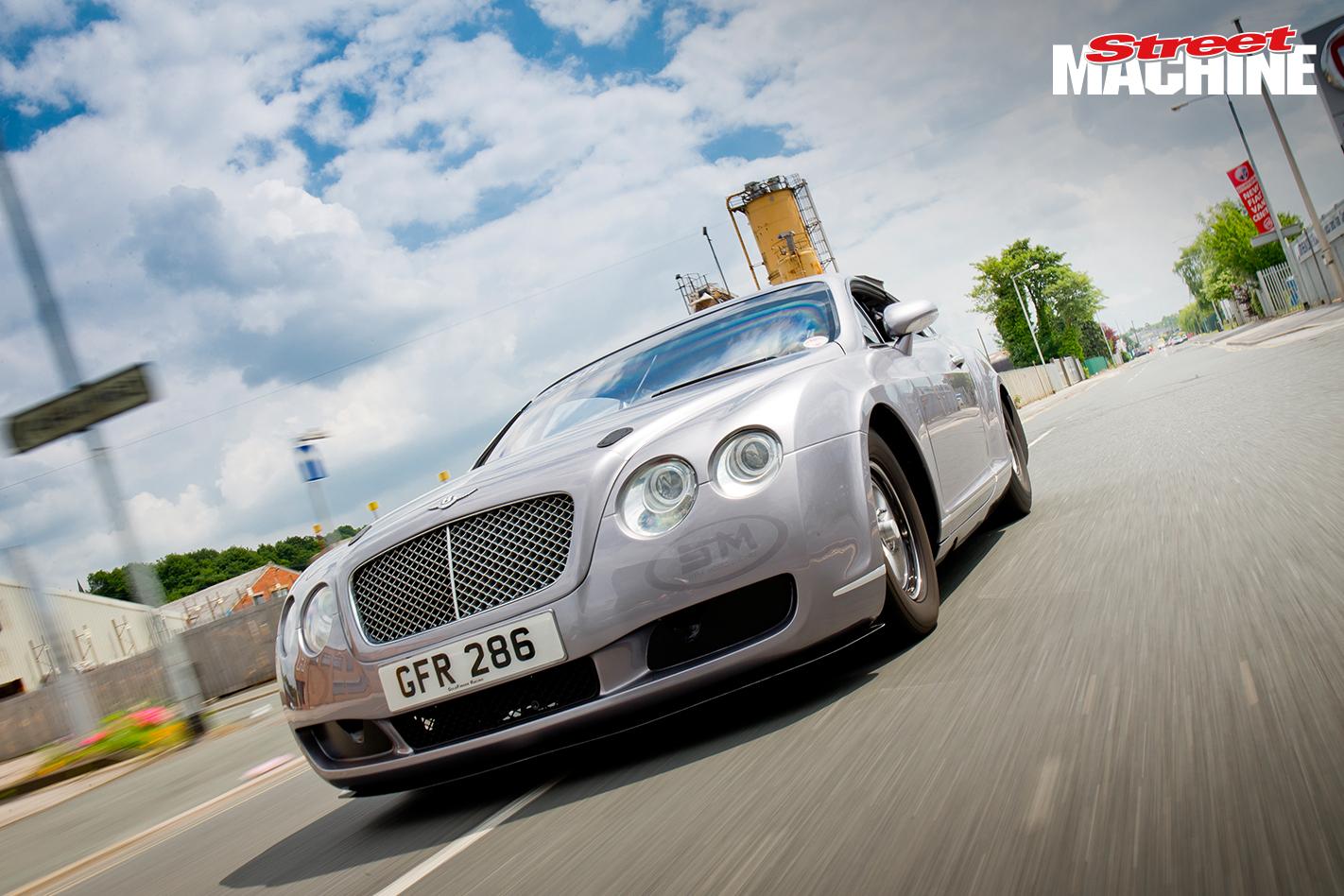 Bentley GT Drag Race Car 14 Nw