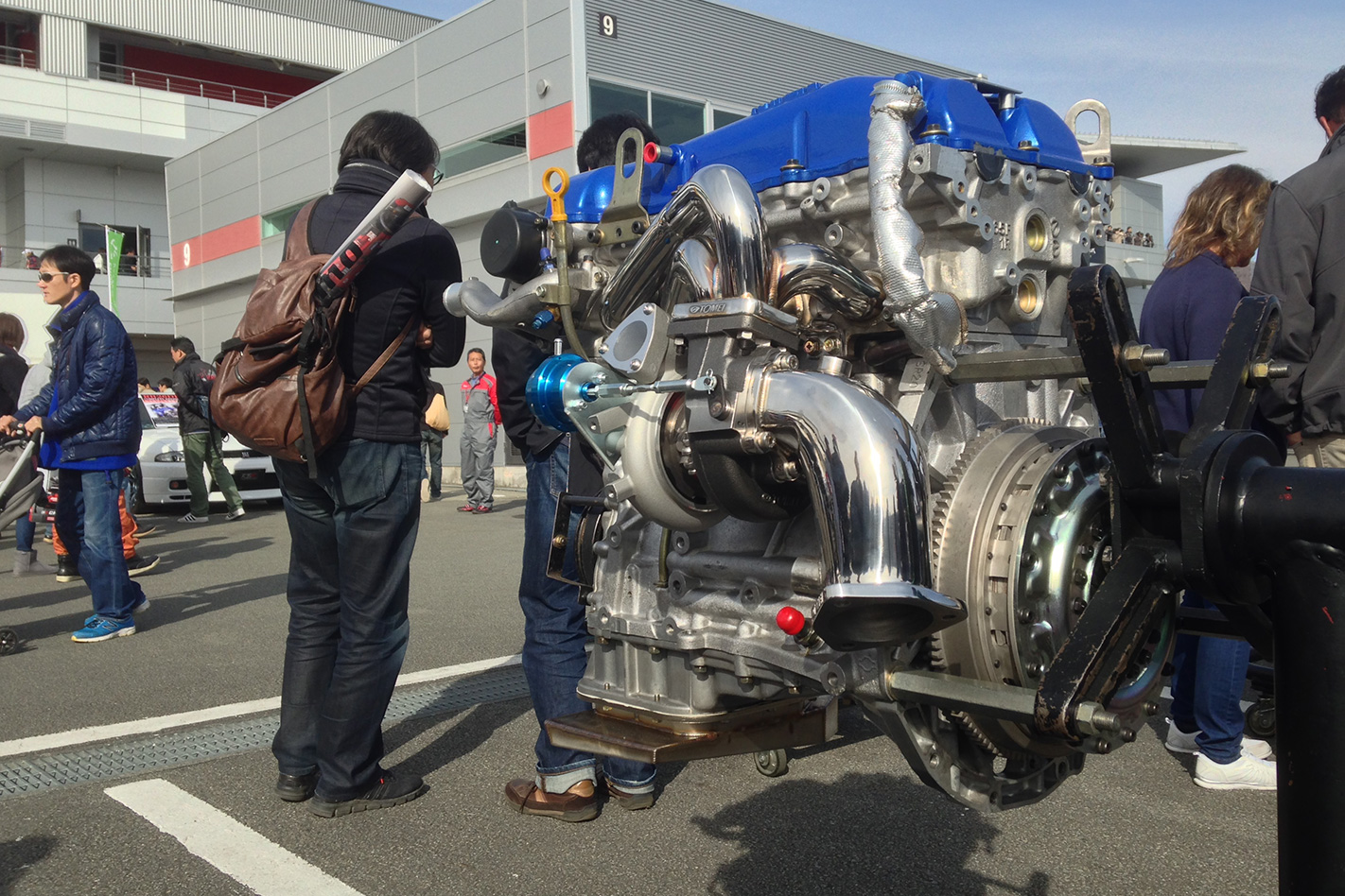 modified crate engines