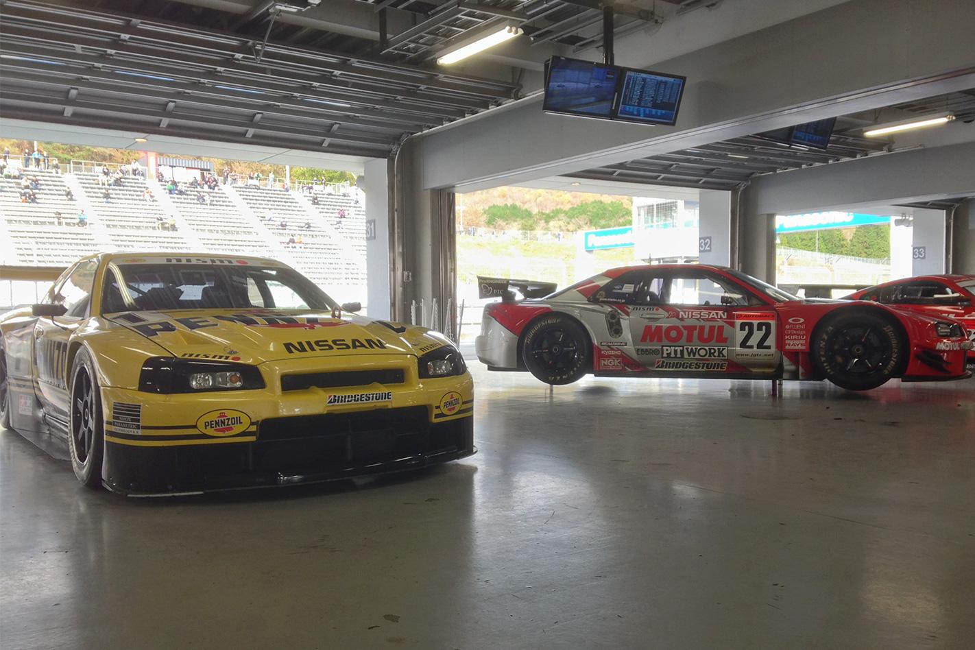 Nismo festival ex-JGTC GT500