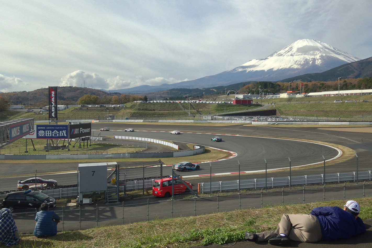 Nismo festival R35 GT-Rs on track
