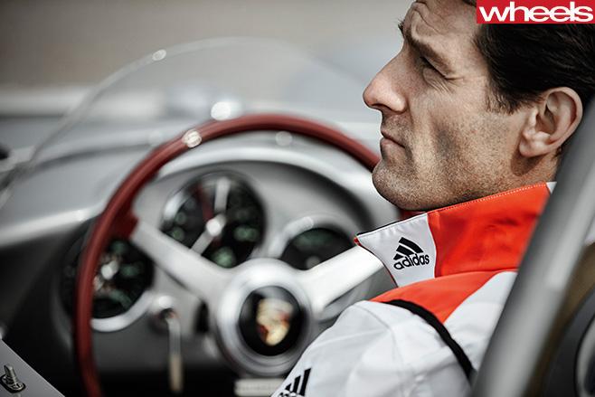 Porsche -driver -Mark -Webber