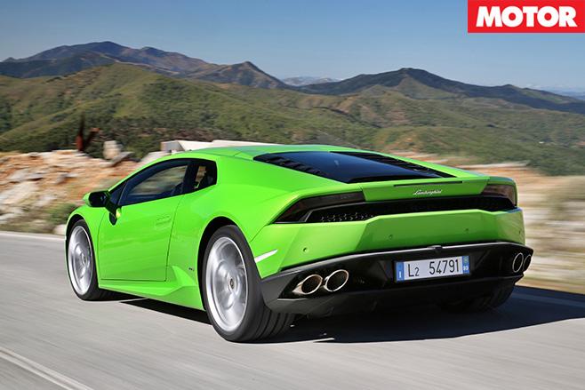 Lamborghini Huracan rear