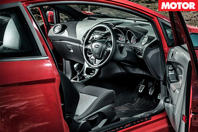 Long term test ford fiesta st interior